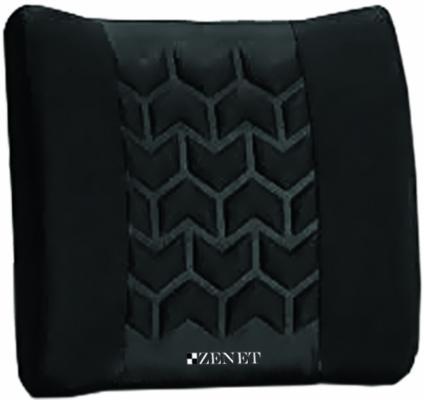 Массажная подушка ZENET ZET-723, вибрационный массаж поясничного отдела, удобный блок управления; работает на батарейках (4АА) цена