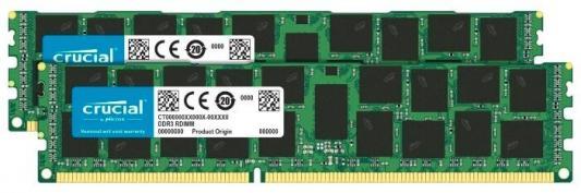 Память DDR3L 2x16Gb 1866MHz Crucial CT2C16G3R186DM RTL PC3-14900 CL13 DIMM 240-pin 1.5В