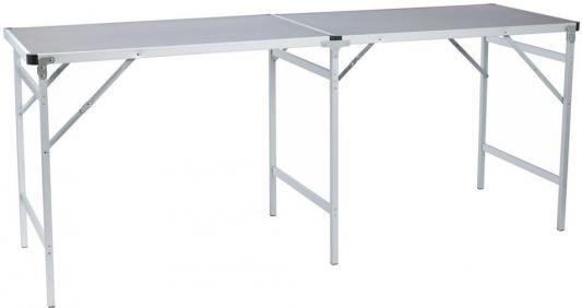 Стол походный Camping World Party Table Grey (цвет серый, размер 200*60*80 см, допустимая нагрузка 50кг) стол складной camping world funny table grey tc 012