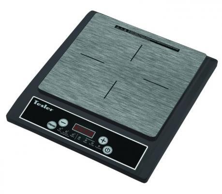 Индукционная электроплитка TESLER PI-13 чёрный электроплитка tesler pe 20 белый