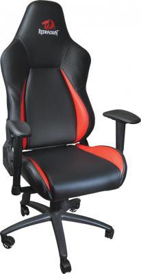 Купить со скидкой Кресло игровое Redragon Fury CT-386 Pro Черно-красный, макс 150 кг, искуственная кожа, полиуретан, п
