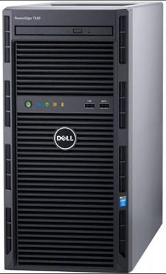 "Сервер Dell PowerEdge T130 1xE3-1230v6 1x16Gb 2RUD x4 1x1Tb 7.2K 3.5"" SATA iD8 Basic 1G 2P 3Y PNBD cabled (210-AFFS-31)"