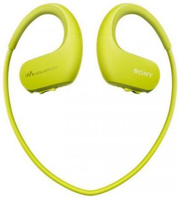 Плеер Flash Sony NW-WS623 4Gb зеленый цена