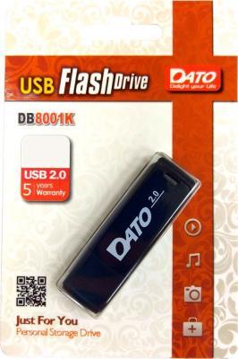 Фото - Флеш Диск Dato 16Gb DB8001 DB8001K-16G USB2.0 черный флеш диск verbatim 16gb pinstripe синий 49068