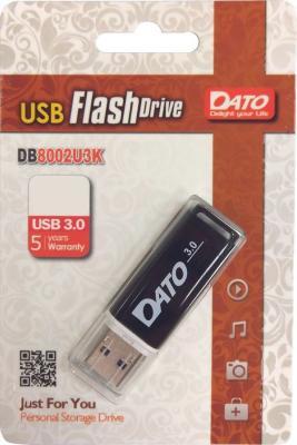 Фото - Флеш Диск Dato 16Gb DB8002U3 DB8002U3K-16G USB3.0 черный флеш диск verbatim 16gb pinstripe синий 49068