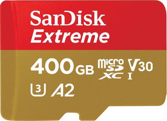 Фото - Флеш карта microSDXC 400Gb Class10 Sandisk SDSQXA1-400G-GN6MA Extreme + adapter флеш карта microsd 1tb class10 sandisk sdsqxa1 1t00 gn6ma extreme adapter