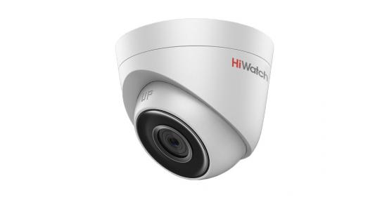 Камера IP Hikvision HiWatch DS-I253 CMOS 1/2.8 4 мм 1920 x 1080 MJPEG Н.265 H.264 RJ45 10M/100M Ethernet PoE белый