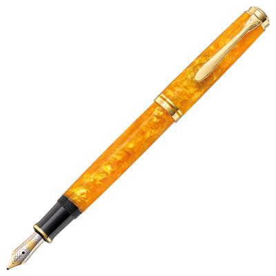 Перьевая ручка перьевая Pelikan Souveraen M600 SE (PL809528) EF lamy ручка перьевая lux цвет корпуса золотой толщина ef