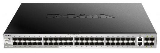 Коммутатор D-Link DGS-3130-54TS/A1A 48G 2x10G 4SFP+ управляемый цена и фото