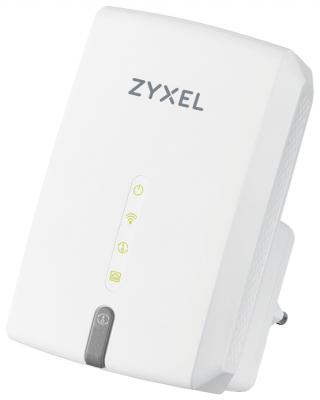 Повторитель беспроводного сигнала/мост Zyxel WRE6602-EU0101F AC1200 Wi-Fi белый стоимость