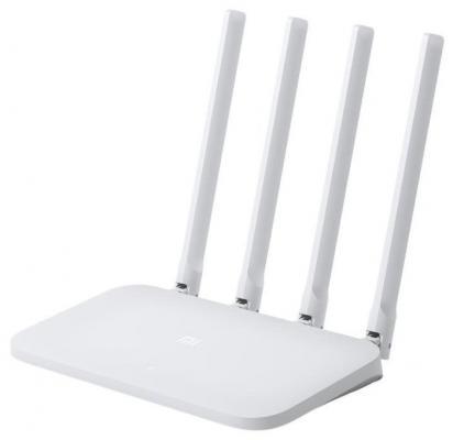 Маршрутизатор беспроводной Xiaomi Mi WiFi Router 4C (4C) 10/100BASE-TX белый все цены
