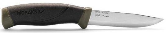 Нож Mora Companion (11827) стальной разделочный лезв.103мм прямая заточка темно-зеленый/черный