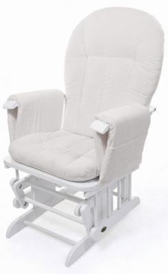 Купить Кресло-качалка для кормления Nuovita Barcelona (bianco/белый), Кресла-качалки для мамы