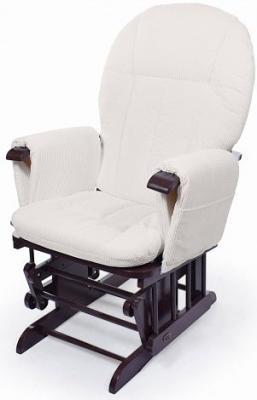 Купить Кресло-качалка для кормления Nuovita Barcelona (noce scuro/темный орех), Кресла-качалки для мамы