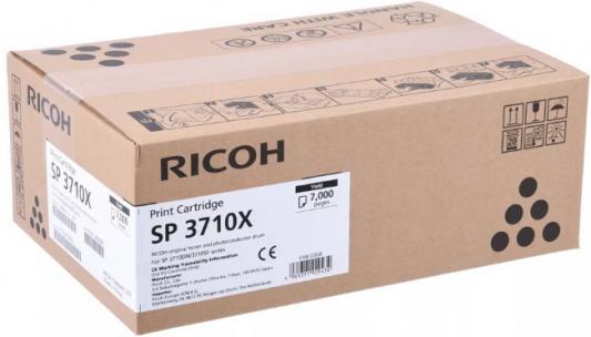 Принт-картридж Ricoh SP 3710X для SP 3710DN/SP 3710SF. Чёрный. 7 000 страниц. цена
