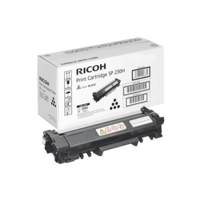 Тонер-картридж Ricoh SP 230H для SP 230DNw/SP 230SFNw. Чёрный. 3 000 страниц. тонер картридж ricoh sp 230h черный black 3000 стр для ricoh sp 230dnw 230sfnw