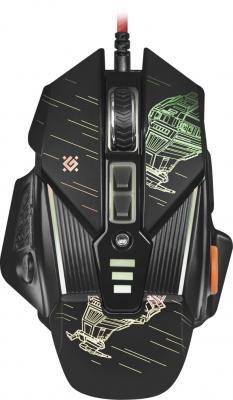 Мышь проводная Defender sTarx GM-390L чёрный USB