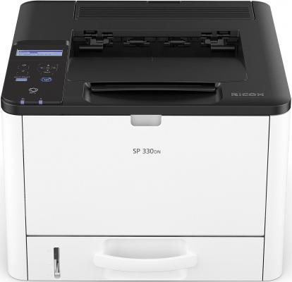 Принтер Ricoh SP 330DN <картридж 1000стр.> (Лазерный, 32 стр/мин, 1200х600dpi, duplex, LAN, NFC, USB, А4) принтер ricoh принтер ricoh sp c262dnw 408141