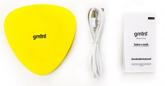 Фото - Беспроводное зарядное устройство Gmini GM-WCT-TC01V8 microUSB 1A желтый зарядное
