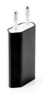 Фото - Сетевое зарядное устройство Gmini GM-WC-190-1USB 1A черный беспроводное зарядное устройство gmini gm wct tc01v8 1a microusb желтый
