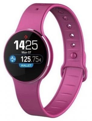 Фитнес-трекер MyKronoz ZeCircle2 цвет розовый/розовый цена и фото