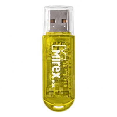 Фото - Флеш накопитель 8GB Mirex Elf, USB 2.0, Желтый usb флеш накопитель perfeo 4gb c04 красный