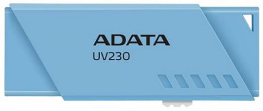 Флеш накопитель 16GB A-DATA UV230, USB 2.0, синий флеш накопитель 16gb a data ud230 usb 2 0 черный