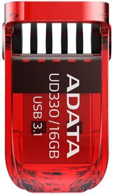Флеш накопитель 16GB A-DATA UD330, USB 3.1, Красный флеш накопитель 16gb a data ud230 usb 2 0 черный