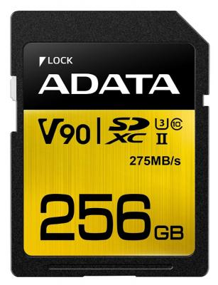 Флеш карта SD 256GB A-DATA Premier ONE SDXC Class 10 UHS-II U3 V90 275MB/s sd one 36