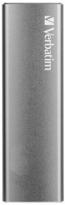 Твердотельный диск 120GB Verbatim VX500, External, USB 3.1, [R/W -500/290 MB/s], металл цена