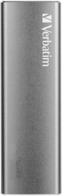 Твердотельный диск 480GB Verbatim VX500, External, USB 3.1, [R/W -500/440 MB/s], металл