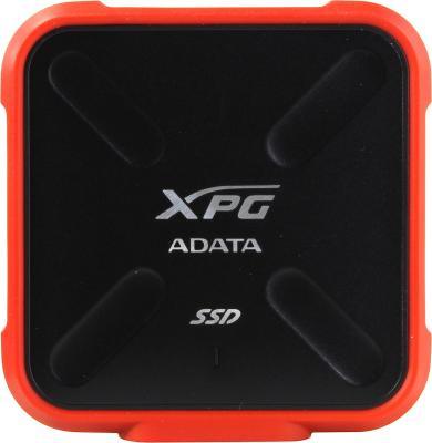 Твердотельный диск 512GB A-DATA SD700X, External, USB 3.1, [R/W -440/430 MB/s] 3D-NAND, красный/черный твердотельный диск 256gb a data sd600 external usb 3 1 [r w 440 430 mb s] 3d nand черный