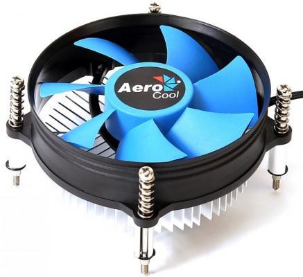 Кулер Aerocool BAS-B9 , INTEL, TDP 90W, OEM, screws, 95x95x57mm, 3-pin, 2300rpm, LGA 1150/1151/1155/1156