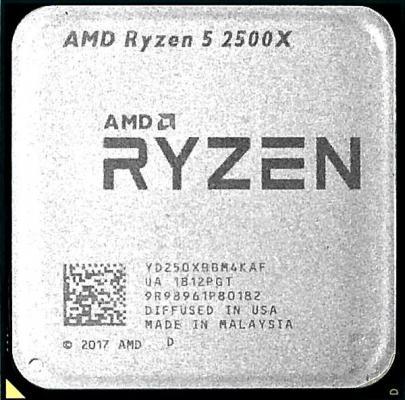 Купить со скидкой Процессор AMD Ryzen 5 2500X OEM <65W, 4C/8T, 4.0Gh(Max), 10MB(L2+L3), AM4> (YD250XBBM4KAF)