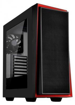 Корпус Silverstone RedLine [SST-RL06BR-W] , ATX, без БП ( ATX ) корпус silverstone case ss grandia gd06b black sst gd06b