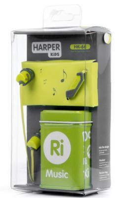 Гарнитура Harper HK-66 зеленый H00001208
