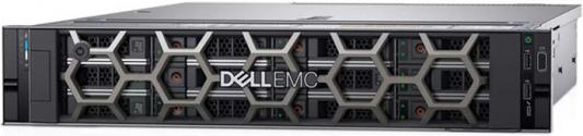 Сервер Dell PowerEdge R540 2x5118 Gold, 2x32GB, 1x1TB SATA HotPlug 3.5, H730p+/2Gb NV, DVDRW, 2x1GbE, iD9 Enterprise, 1x750W, Bezel/Rack Rails, 3y NBD