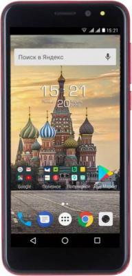 Смартфон Fly Life Compact 4G 8 Гб красный