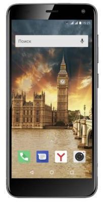 Смартфон Fly Life Compact 4G 8 Гб черный (Life Compact Black 4G_A)