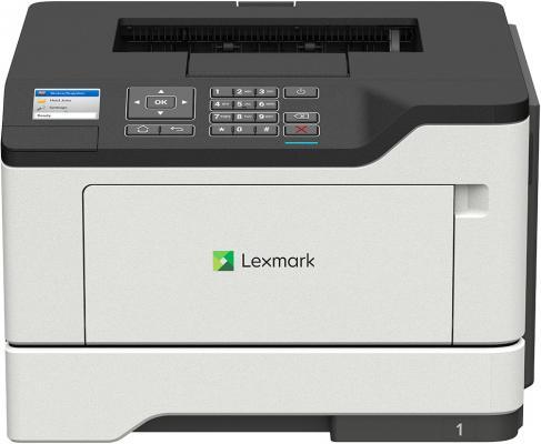 Принтер лазерный Lexmark монохромный MS521dn принтер лазерный lexmark монохромный ms421dn