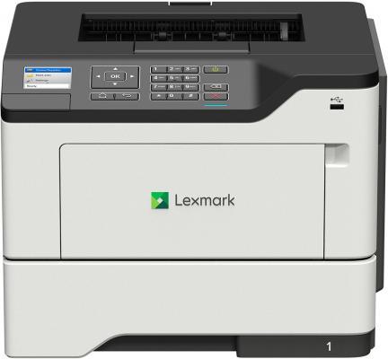 Фото - Принтер лазерный Lexmark монохромный MS621dn принтер lexmark ms521dn