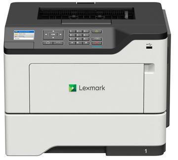 Принтер лазерный Lexmark монохромный MS621dn принтер лазерный lexmark ms510dn
