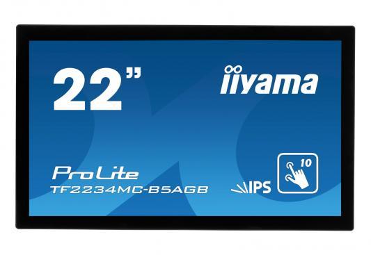 Монитор жидкокристаллический Iiyama Монитор LCD 21.5'' [16:9] 1920х1080(FHD) IPS, nonGLARE, TOUCH, 350cd/m2, H178°/V178°, 1000:1, 16.7M, 8ms, VGA, HDMI, DP, Open frame, 3Y, Black монитор жидкокристаллический iiyama монитор lcd 23 6
