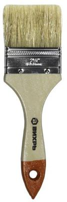 Кисть СТАНДАРТ 63 мм 2,5'' натуральная щетина Вихрь 73/3/4/4 кисть малярная вихрь стандарт натуральная щетина ширина 25 мм