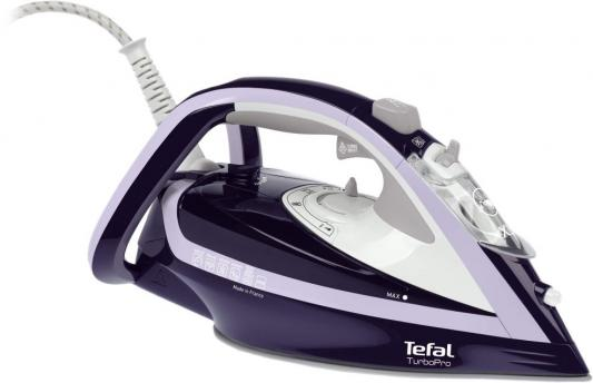 лучшая цена Утюг Tefal FV5615 2600Вт фиолетовый белый
