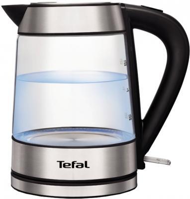 Чайник Tefal KI730D 2400 Вт чёрный Нержавеющая сталь 1.7 л металл/стекло