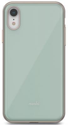 Накладка Moshi iGlaze для iPhone XR голубой 99MO113631 клип кейс moshi iglaze для apple iphone xr черный