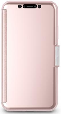 Чехол-книжка Moshi StealthCover для iPhone XR розовый 99MO102302 цена и фото