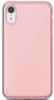 Накладка Moshi iGlaze для iPhone XR розовый 99MO113301 клип кейс moshi iglaze для apple iphone xr черный