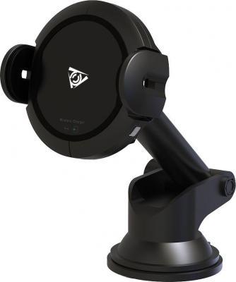 Беспроводное зарядное устройство Qcyber Qcyber Mobile Automatic 2А черный 010290 цена и фото